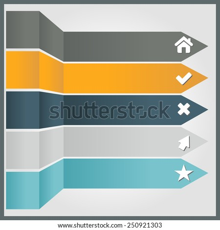 Vector illustration of modern design template