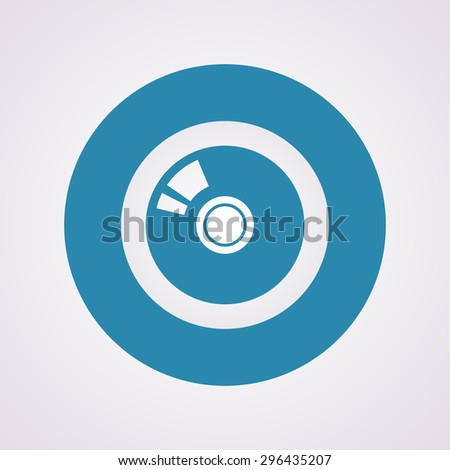 vector illustration of modern i con disk