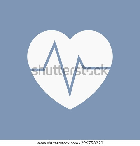 vector illustration of modern icon health - stock vector