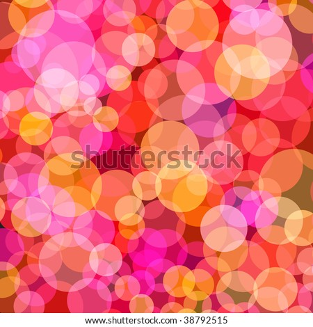 Vector - Illustration of overlapping colorful dots pattern for background abstract - stock vector