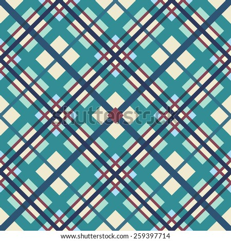 Vector illustration of overlapping multi-colored stripes. - stock vector