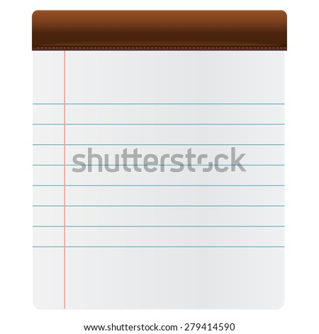 Vector illustration of Paper - stock vector