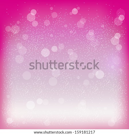 Vector illustration of pink background