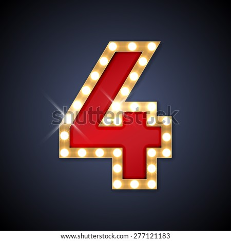 Number 4 Stock Photos, Royalty-Free Images & Vectors - Shutterstock