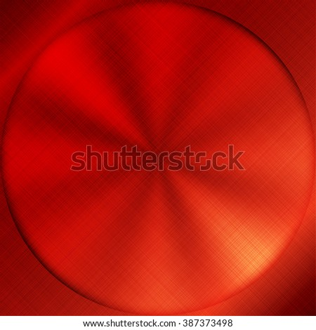 Vector illustration of  Red power button - stock vector