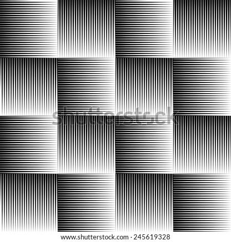 Vector illustration of seamless pattern made of pointed, sharp shapes. Eps 10 vector. - stock vector