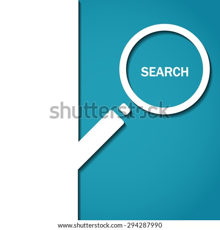 Vector Illustration of Search Icon for Design, Website, Background, Banner. Logo of  magnifying glass Element Template - stock vector