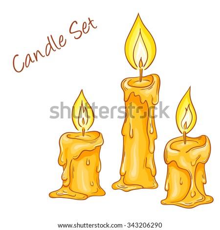Candle Melting Drawing | www.pixshark.com - 46.5KB