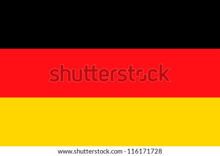 Vector Illustration of the flag of Germany - stock vector