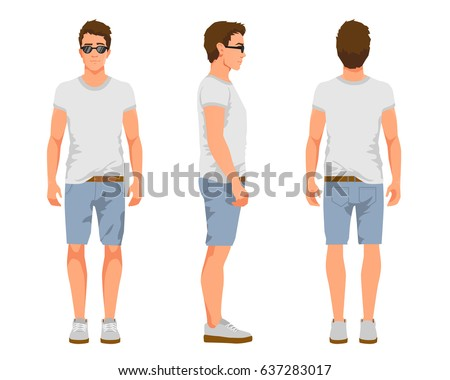 Man Shorts Stock Images, Royalty-Free Images & Vectors   Shutterstock