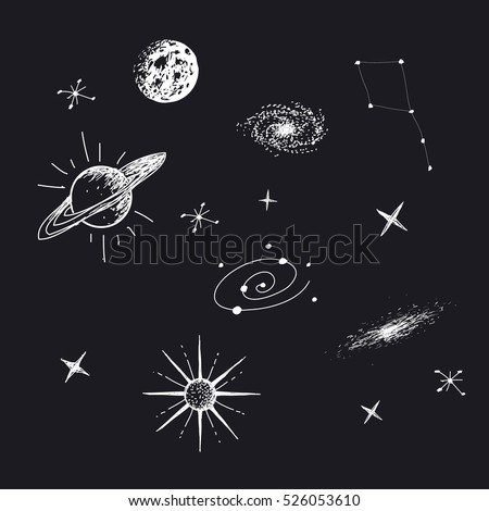 galaxies planets and stars cartoons - photo #40