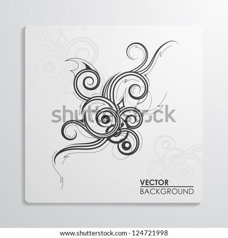Vector illustration of vector background - stock vector