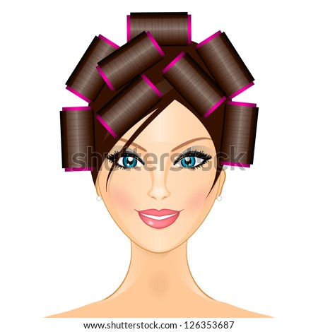 Hair Curlers Stock Photos Royalty Free Images Amp Vectors