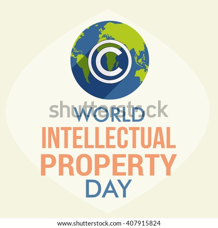 Vector illustration of World Intellectual Property Day.