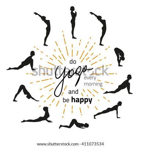 sun salutation stock images royaltyfree images  vectors