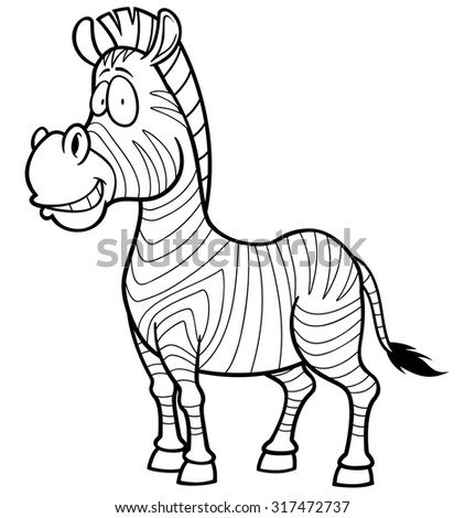 Color Drawing Zebra Stock Images, Royalty-Free Images & Vectors ...