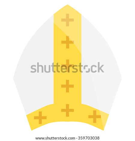 Papal hat clipart outline - normal acromiohumeral interval mri images