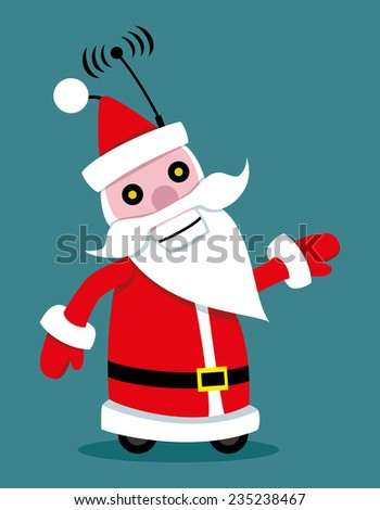 Vector illustration. Santa Claus.