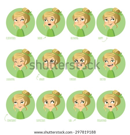 Woman Expressions Stock Images, Royalty-Free Images & Vectors ...