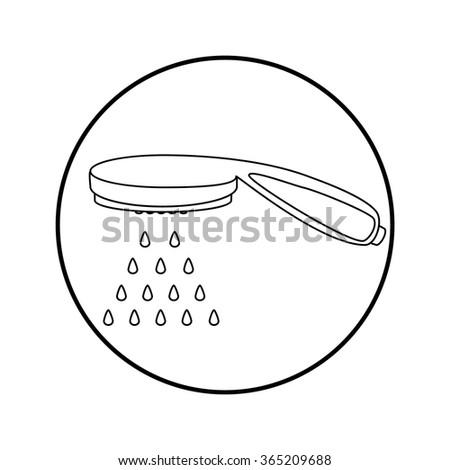 shower head icon lizenzfreie bilder und vektorgrafiken kaufen