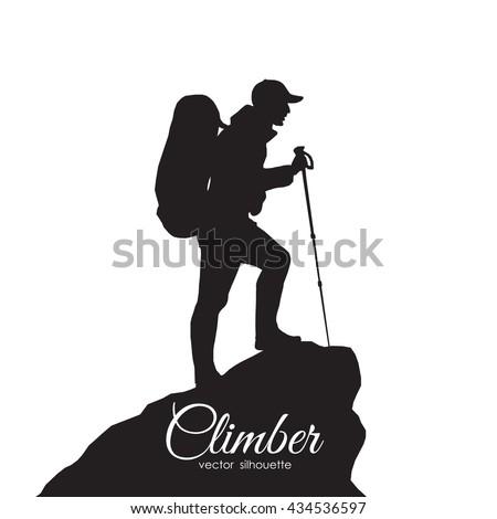 hiking silhouette desktop wallpaper - photo #33