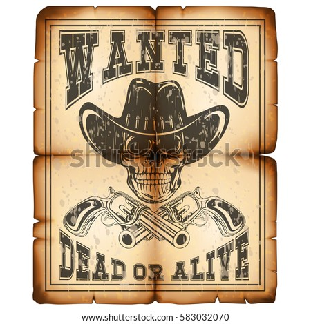 Alive Images RoyaltyFree Images Vectors – Wanted Poster Letters