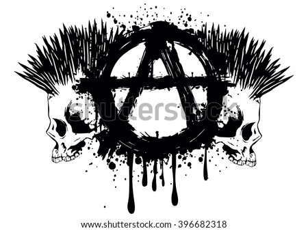 Anarchist Symbol Stock Images Royalty Free Images Amp Vectors Shutterstock