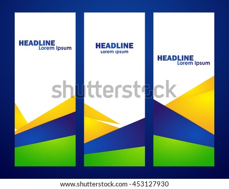 Blue Vertical Banner Stock Images, Royalty-Free Images & Vectors ...