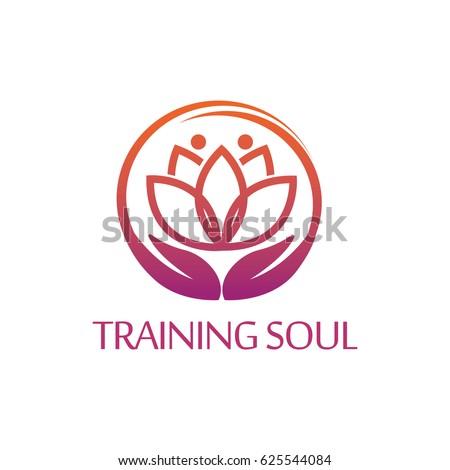 Yoga Logo Stock Vector 540556549 Shutterstock