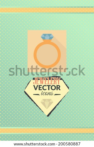 Vector illustration with crafts and objects