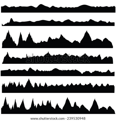 Mountain Silhouette mountains silhouette stock images, royalty-free images & vectors