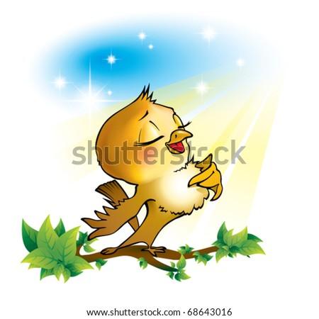Nightingale Singer Bird Nightingale