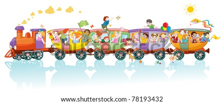 Kids Train Stock Images Royalty Free Images Amp Vectors