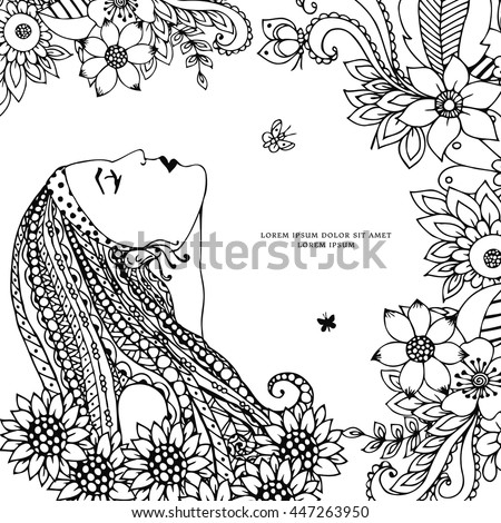 Anti Stress Coloring Book Stock Images Royalty Free Images