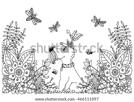 Dog Doodle Stock Images Royalty Free Images Amp Vectors