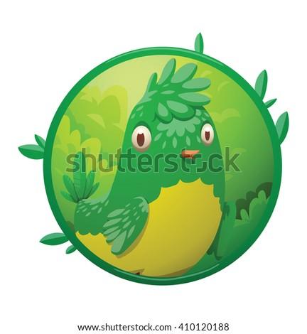 green fish cartoon illustration isolated image stock illustration, Reel Combo
