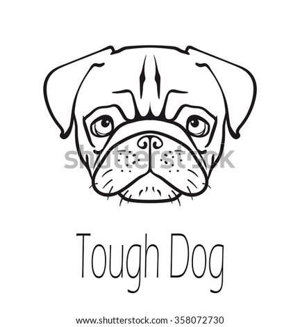 q dog symbol dog