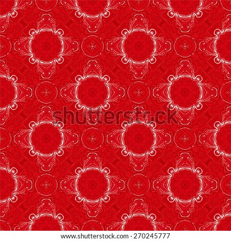 Vector image of an unique, abstract pattern