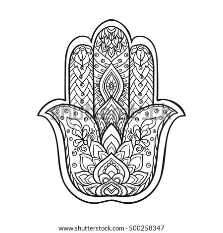 Hamsa Hand Stock Images Royalty Free Images Amp Vectors
