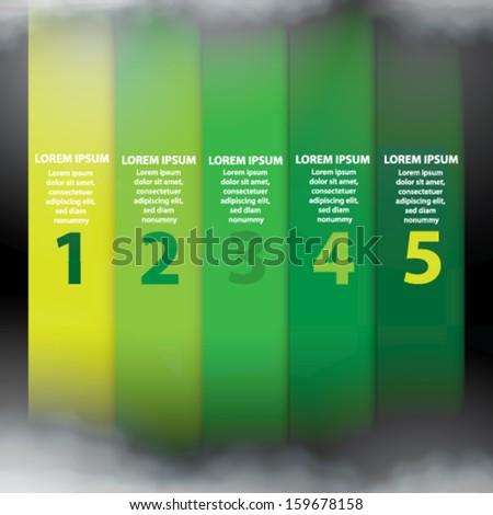 Vector Info graphic Brochure - stock vector