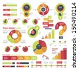 Vector infographic elements - stock
