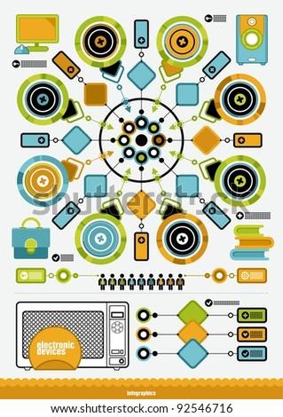 vector infographics - stock vector