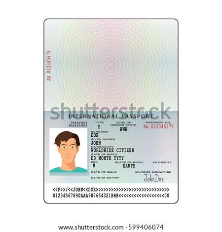 Passport Stock Images, Royalty-Free Images & Vectors | Shutterstock