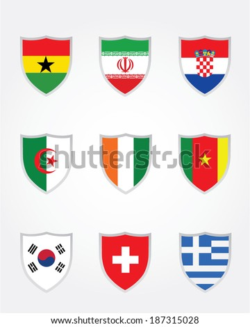 Vector International World Cup Soccer Crest Collection