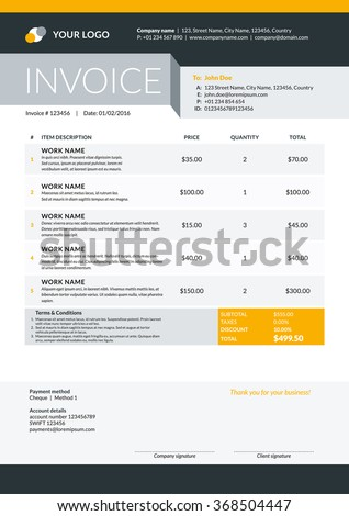 Jb Hi Fi Receipt Number Excel Invoice Bill Stock Images Royaltyfree Images  Vectors  Money Order Receipt Number Word with Nebs Invoices Excel Vector Invoice Form Template Design Vector Illustration Black And Yellow  Color Theme How To Make A Professional Invoice Pdf