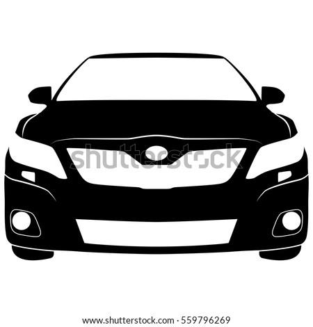 vector isolated car sign stock vector 559796269 shutterstock rh shutterstock com Toyota Financial Logo Toyota Logo Icon