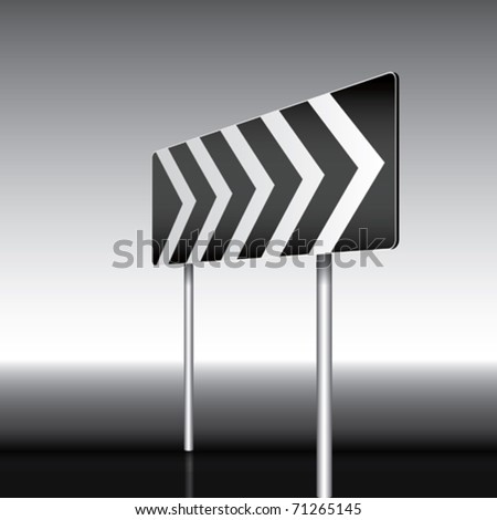 Vector Isolated Sign - stock vector