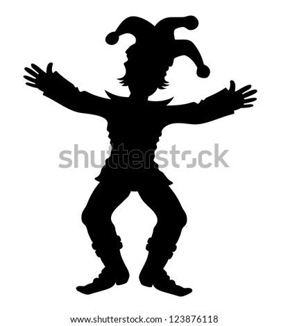 Vector. Jester. - stock vector