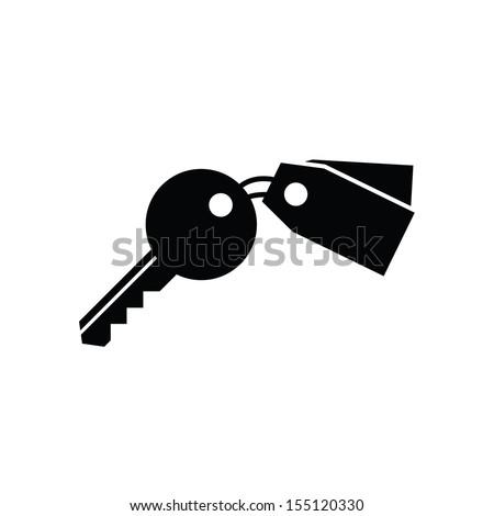 Vector Key Icon - stock vector