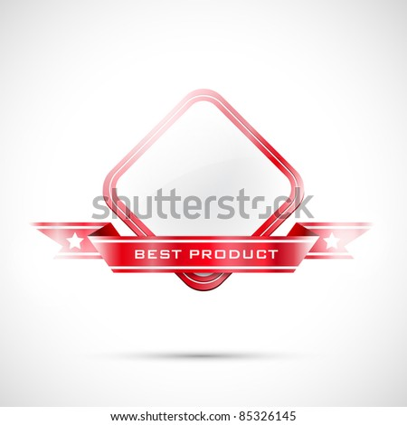 Vector label - stock vector